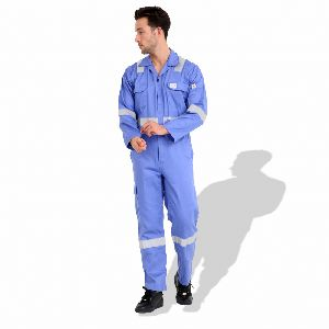 Coverall Flame/Fire Retardant with Reflective Tape F1023