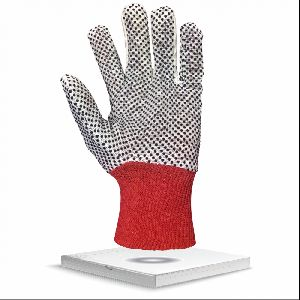 Polka Dot Cotton Drill Gloves Nh16