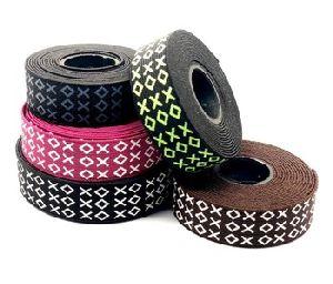 Footwear Shoes Printed Elastic Tape