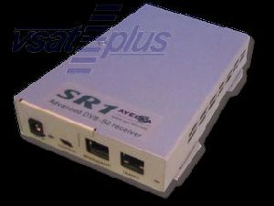 Advanced DVB-S2 Receiver with GigE interface