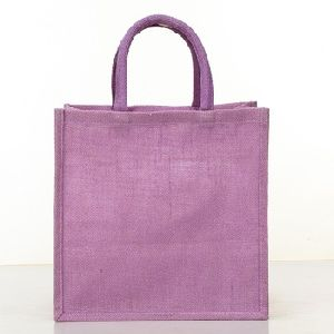 Jute Shopping Bag From Am Leather