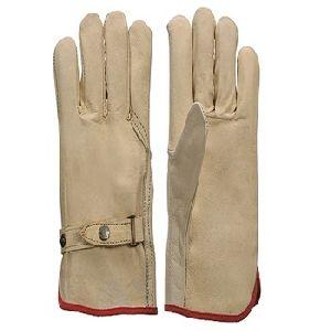 Leather Welding Welder Work Safety Gloves