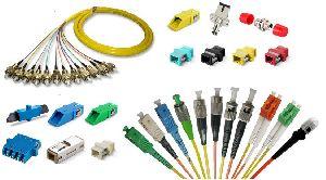 Fiber Optic Cables, Patch Cords, Adaptors & Connectors