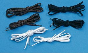 Woven Waxy Shoe Lace