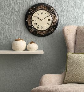 Ddass 1940 Englishman Antique Brass Wall Clock
