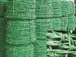 Matnet Pvc Coated Barbed Wire