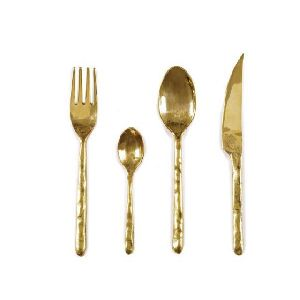 Brass Antique Cutlery Set