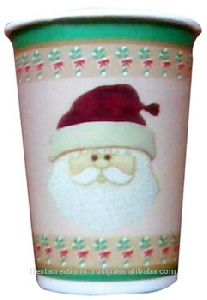Disposable Christmas Paper Cups