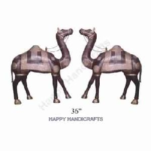 Wooden Decorative Camel