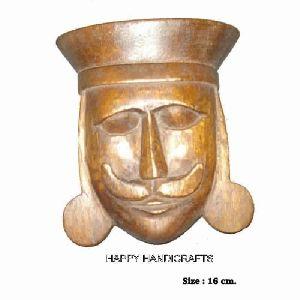 Wooden Decorative Face