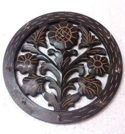 Wooden Hand Carve Wall Key Hanging