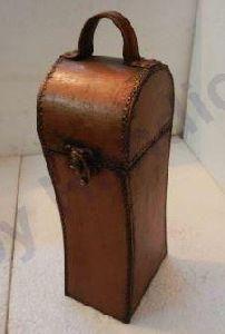 Wooden Hand Carve Wine Box