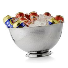 Solid Silver Plated Wine Chiller Bowl