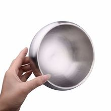 Stainless Steel Double Wall Instant Noodle Bowl
