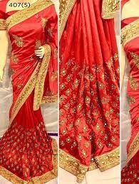 Embroidered Pure Silk Saree