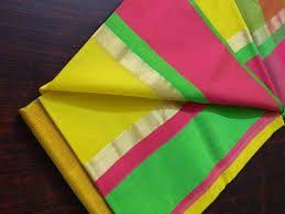 Ganga Jamuna Paithani Cotton Saree