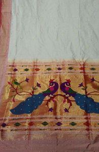 Paithani Semi Sill Saree