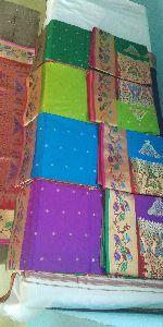 Traditional Semi Paithani Silk Saree