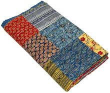 Print Multi Colour Bed Cover
