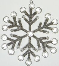 Snowflake Hanging Christmas Tree