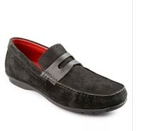 Fashion Boat Shoe In Causal Sued Leather