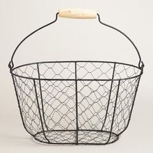 Metal Iron Wire Fruit Basket