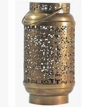 Brass Candle Lantern Without Glass