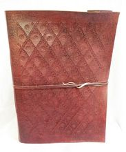 Flower Print Leather New Classic Journal Design Diary