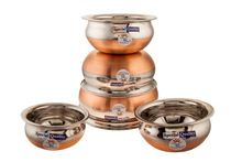 Copper Bottum Handi Cookware