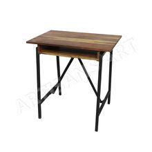 Metal Wood School Desk,