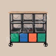 Storage Bucket Cabinet
