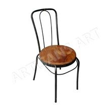 Wood Metal Dining chair