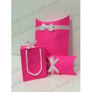 Collapsible Gift Bag And Box
