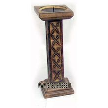 Event Decorative Well-looking Wooden Candle Stand