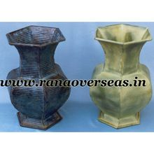 Iron Metal Colored Flower Pots Home And Table Decorative