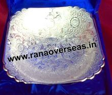 Silver Plated Rectangle Shape Bowl