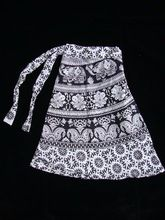 Cotton Jaipuri Printed Boho Hippie Gypsy Wrap Around Skirt