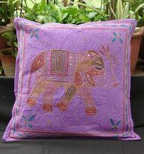 Elephant Cushion Pillow Covers Throw