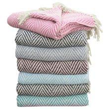 Chevron Cotton Throws Picnic Blanket