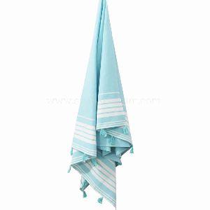 Turkish Striped Towels Tassel Fouta