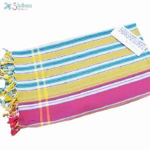 Woven Yarn Dyed Cotton Kikoy Beach Towels