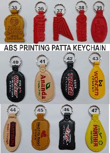 Promotional Plastic Printed Keychains