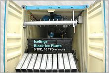 Containerized Block Ice Plants