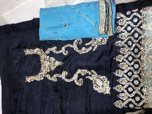 Unstitched Suit Dupatta In Silk