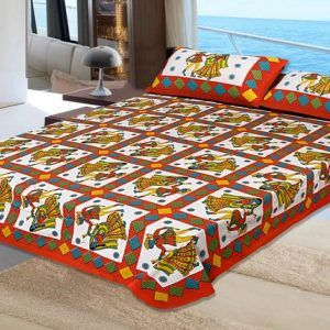 King Size Cotton Bed Sheet Set
