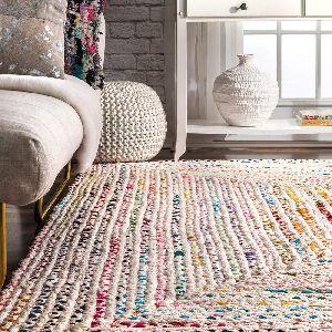 cotton dhurrie carpet