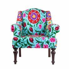 Cotton Suzani Chair