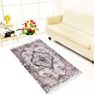 Indian Handmade Rug For Living Room,bedroom,and Dining Room, 35 Feet, Antique Fuchsia Color