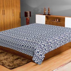 Handmade Vintage Cotton Kantha Quilt Gudri Bed Cover