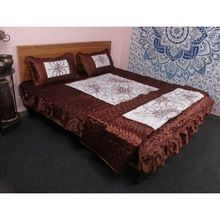Silk Bed Cover Set Sheet